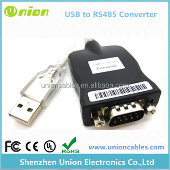 Prolific PL2303 Chipset USB 2.0 to RS485 Serial Port DB9 COM Adapter Converter Cable