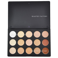 Beauties Factory 15 Colors Cream Concealer Camouflage Makeup Palette