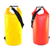Customized PVC Tarpaulin Waterproof Dry Bags With Shoulder Strap