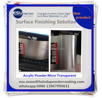 Cheap DIY New Product Recycling Acrylic Clear Transparent Powder Coating