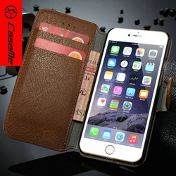 ultra-thin second layer leather bussiness Wallet Case for iphone6s phone case
