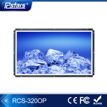 32inch Full HD wall mount open frame full hd 1080p usb media player, lcd advertising display(RCS-320OP)