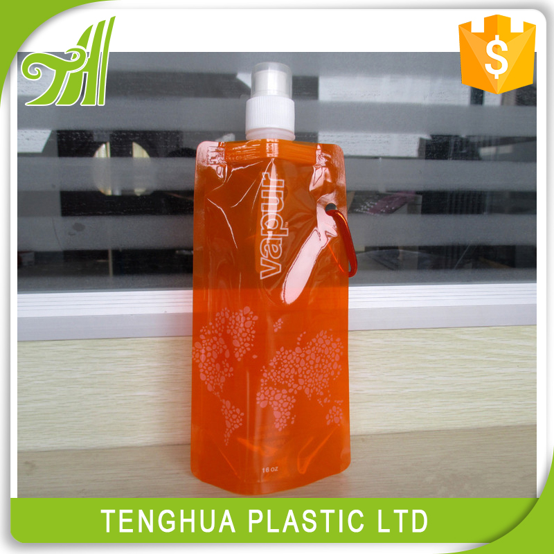Plastic Custom Foldable Water Bottle No Minimum