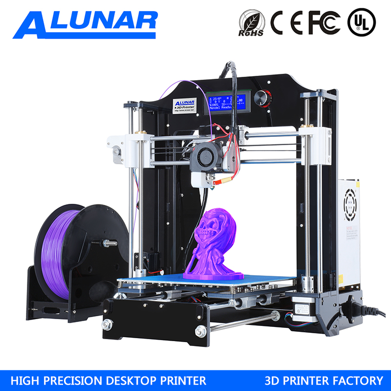 3D Printer Prusa i3 Diy Kit Auto leveling RepRap Desktop 3D Printing Size Heated Bed