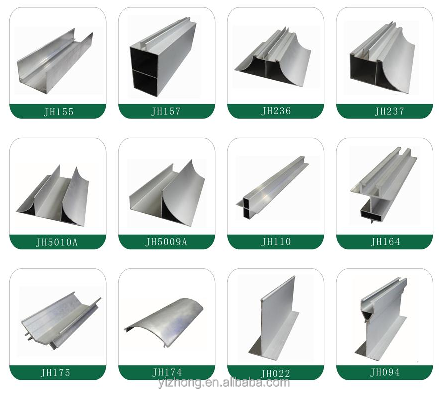 6063-T5 Anodizing <strong>Aluminum</strong> Extrusion Profiles Used in Cleanroom