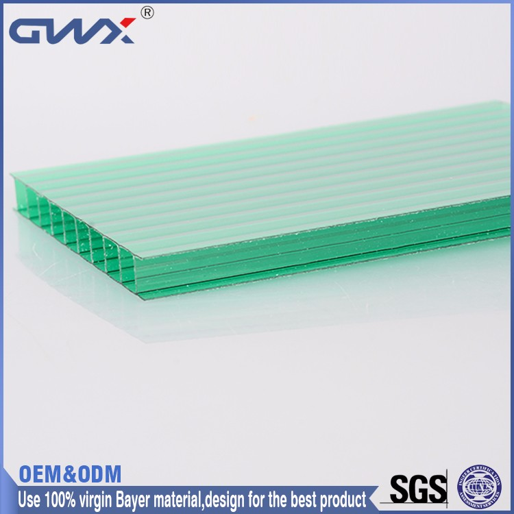 ISO9001:2008 SGS UV-Protection PC Sun Sheet/Polycarbonate Solar Panel/PC Hollow Sheet