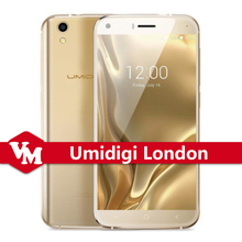 Original Umi London London Smartphone MTK6580 Quad Core Android 6.0 Marshmallow Cell Phone 5.0 inch HD 1280*720 3G Mobile Phone