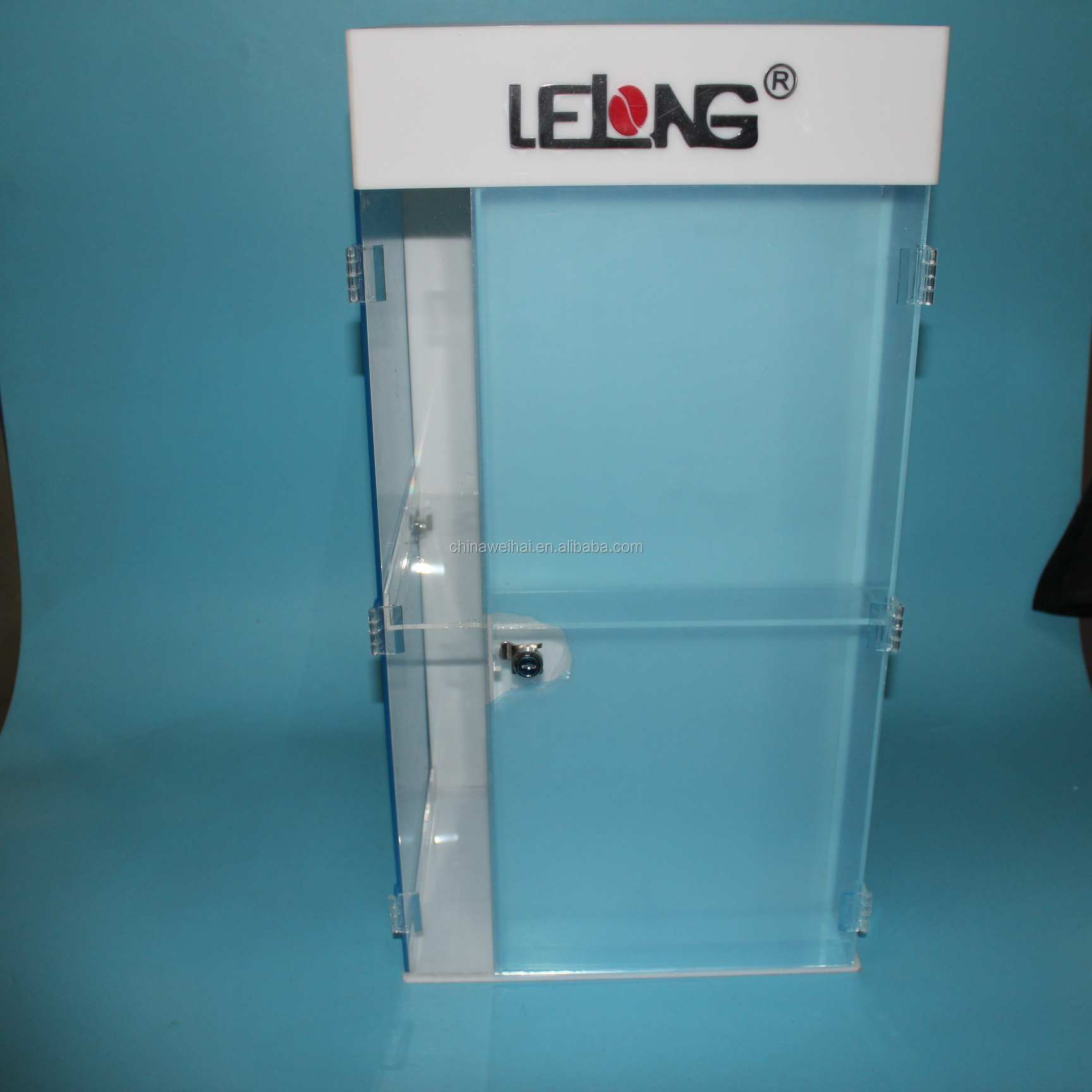 Clear Acrylic Jewelry  Countertop Display Case