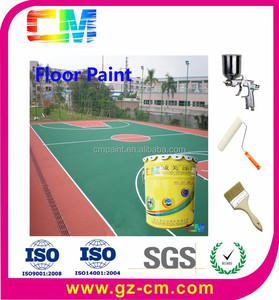 anti slip epoxy basketball court paint -basketball court floor coating