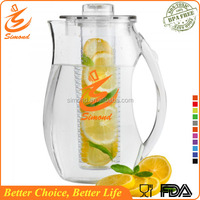 Hot Sale! 93 oz wholesale plastic fruit juice water pitcher