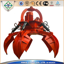 Steady working four rope grab bucket deal sand material with factory price