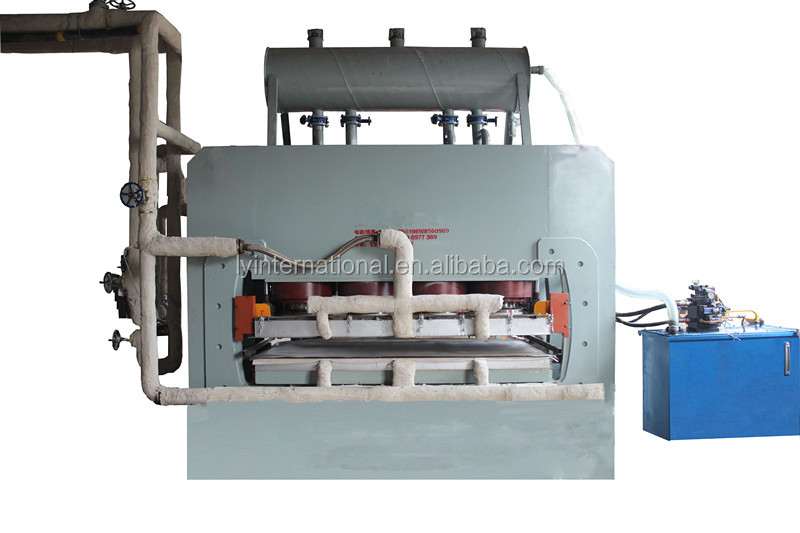 Short-cycle melamine laminating hot press machine/woodworking machine/quick attaching veneer