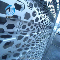 China Manufacturer Aluminum Perforated Metal Wall Cladding