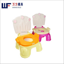 China plastic potty chair inject mould maker