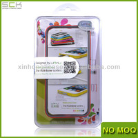 Colorful TPU Bumper Case for iPhone 5/5s with china manufacturer
