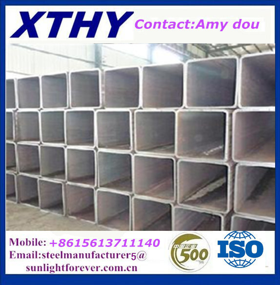 bs1387 hollow sections /square hollow box section /pre galvanized square steel tube