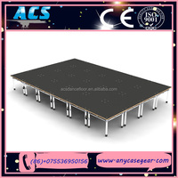 ACS Newly adjustable height stage aluminum podium for opening celebration
