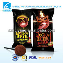 Cheap black devil plastic bag for chocolate sugar