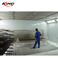 CE water spray paint drying booth