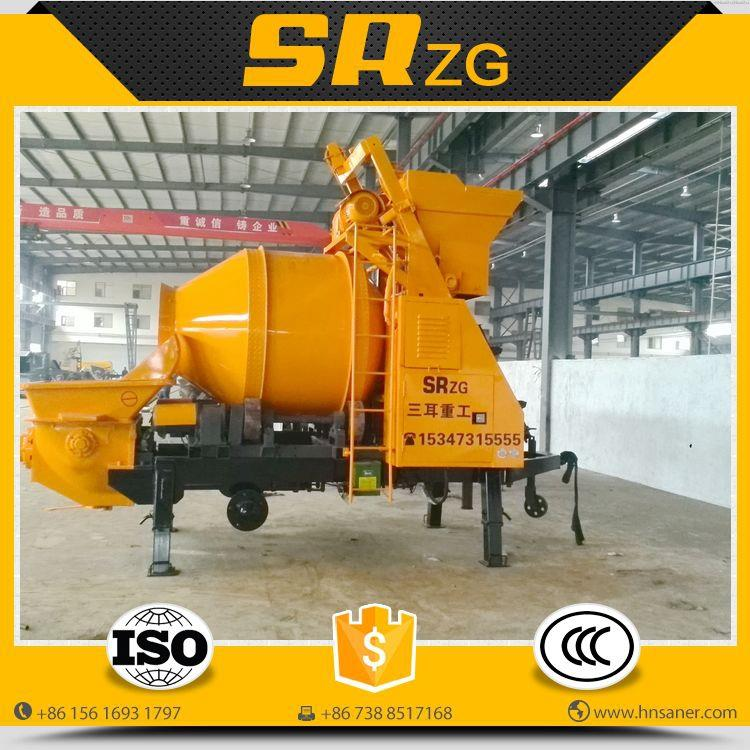 Alibaba china classical concrete mixer truck with pump price