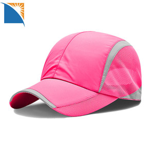 Summer Baseball running cap High Quality Quick Dry Cycling Hat Cap Outdoor  Sports Mesh Cap f162f27ab774