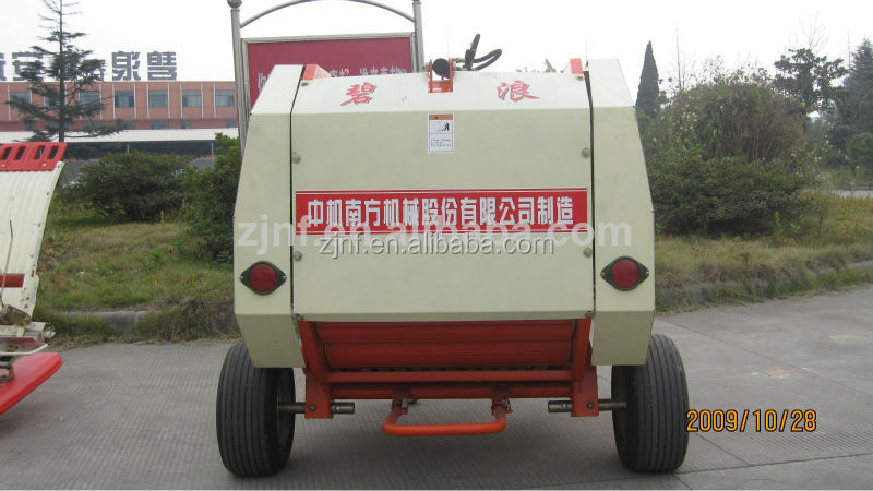 High quality small round Pine hay straw baler for sale