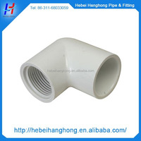 China wholesale custom pvc pipe fitting male/female elbow