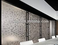 Interior Decorative Leaf PETG Wall Panel