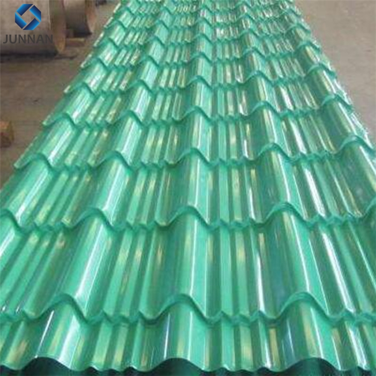 Zinc Coated Steel Corrugated galvanized zinc roof sheets/cheap roofing materials