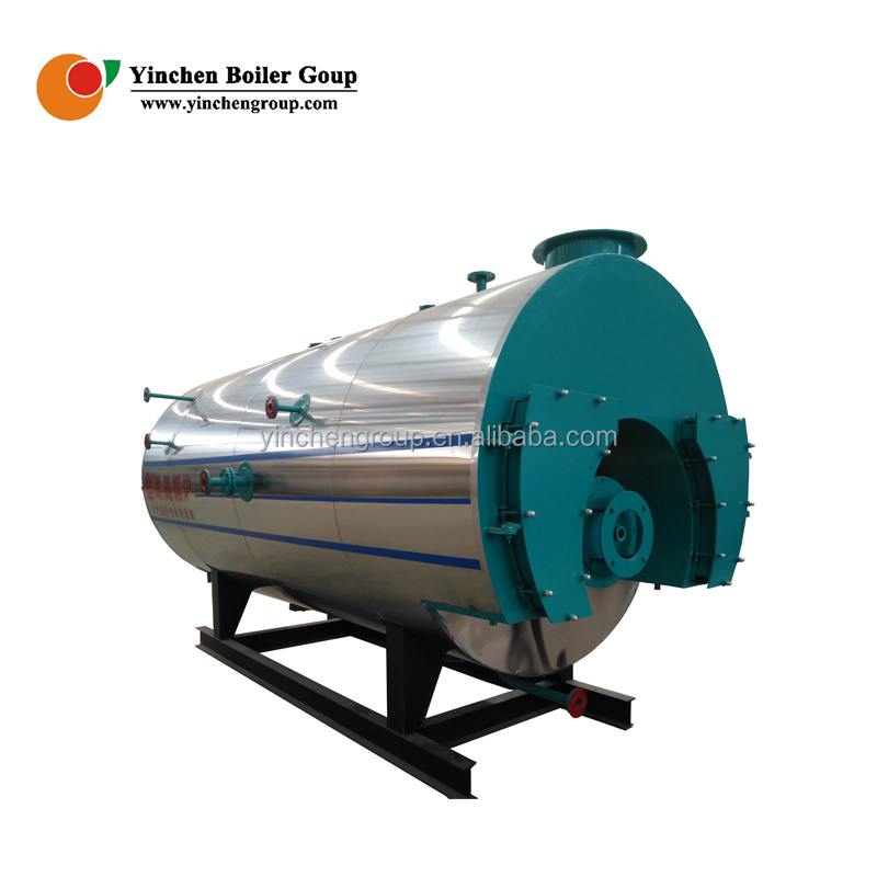 Yinchen High Technology Safety Value 1ton/h steam boiler for soy sauce processing