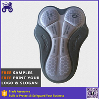Coolmax 3D Cycling Chamois Crotch Pads For Custom Biking Wear