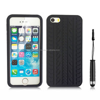 New Tyre Skin Design Soft Silicon Gel Back Phone Case Cover For Apple Iphone 5/5S