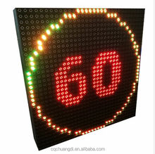 Variable Messaging Board Speed Limit Highway VMS Signs Traffic LED Display Screen