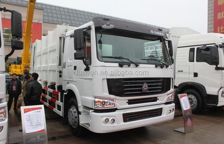 New Condition SINOTRUK HOWO Dustcart 266HP 4X2