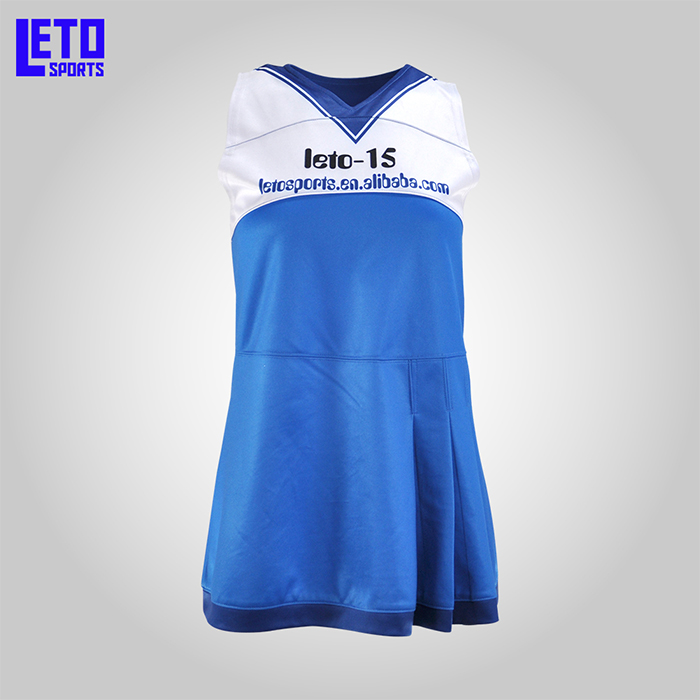 2019Hot Sale Custom Women Dye Dance Cheerleading Uniforms Dress Design