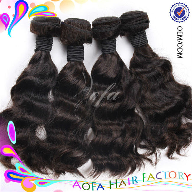 6A top quality AoFa factory supply red body wave hair weave