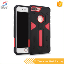 2016 Rugged Heavy Duty 2 in 1 tpu pc waterproof cell phone case for iPhone 7 plus