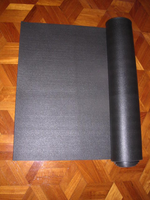 The Black Yoga Mat (Premium Mat Hatta, Pilates, And Astanga)