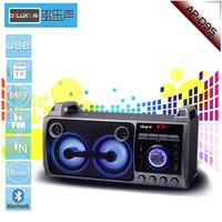 2016 USB LED active professional subwoofer portable wireless bluetooth speaker