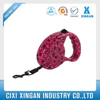 durable reflective dog leash with printing,wholesale pet charms