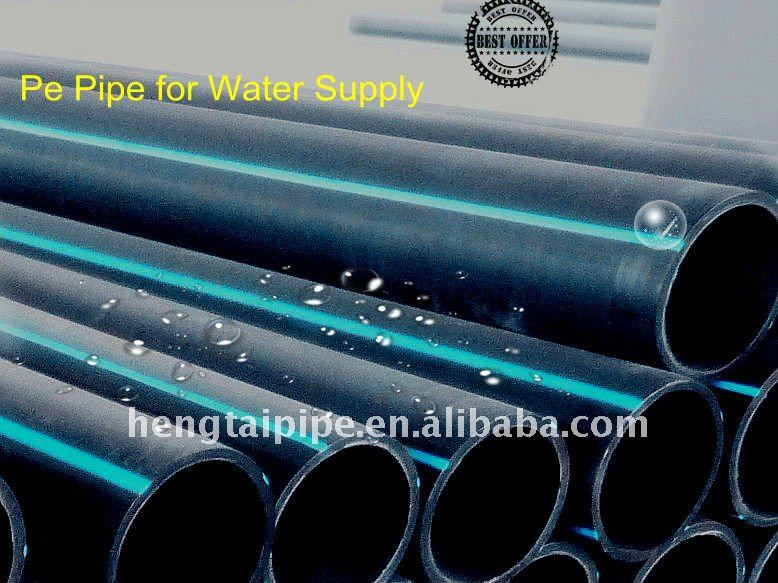 Easy installation PE80 Pe Water Pipe(dn=315mm)