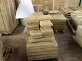 Split Surface Finishing Yellow sandstone Natural Wall Stone Panel