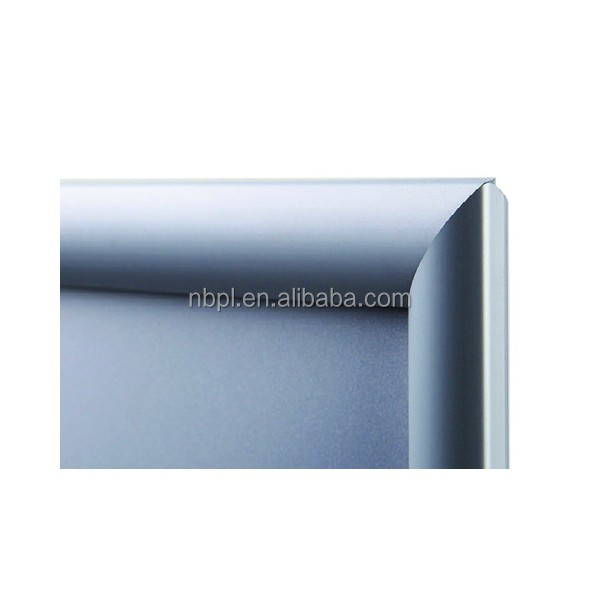 Aluminium Silver Anodized snap frame <strong>poster</strong> hanger with mitred corner