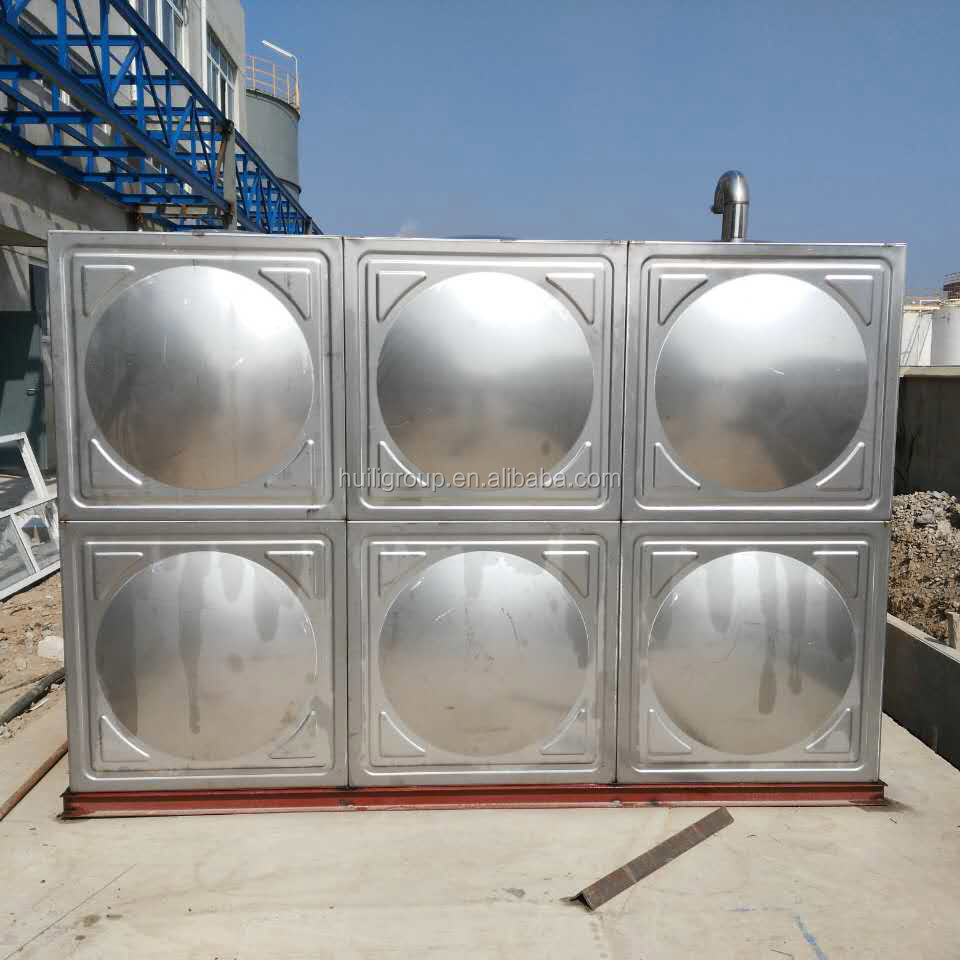 stainless steel water tank for drinking water storage