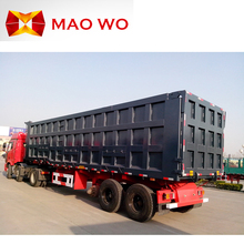 China brand new 3 axle trailer truck 40 ton on sale