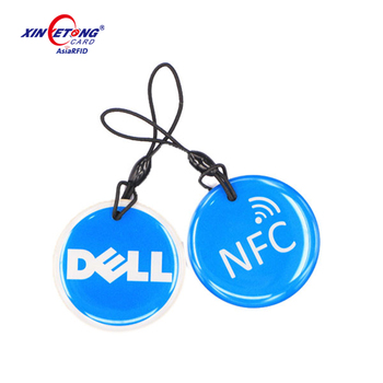 programmable epoxy RFID tags MF S50 1K byte for pet NFC dog Tag Xinyetong manufacturer