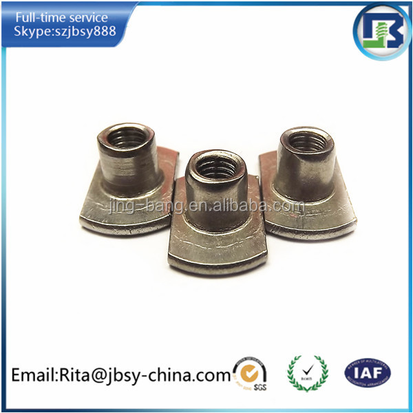 china customized T nuts , flare nuts manufacture/exporter