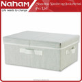 NAHAM Collapsible Fabric Storage Boxes, Storage Cube With Handle