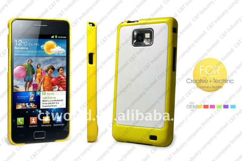 New hard case back cover for samsung galaxy s2 i9100