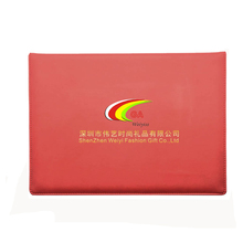 China oem productation lowest cost faux leather velvet graduate certificate case holder silkprint logo
